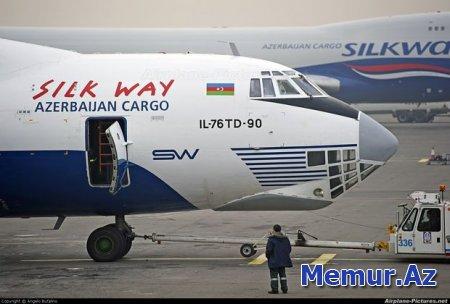 """""""Silk Way West Airlines"""" Çinin yeni şəhərinə reyslər açır"""