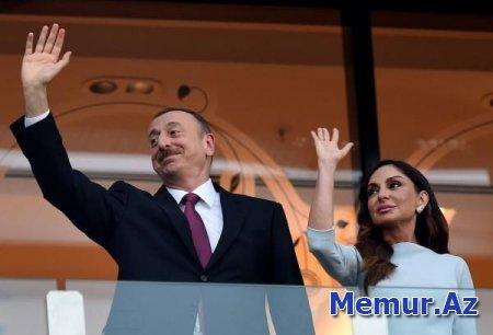 Prezident cüdo üzrə dünya çempionatının açılışında - YENİLƏNİB