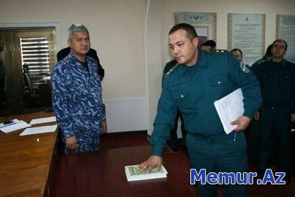 Özbəkistan polisi rüşvət almayacağına dair Qurana and içib
