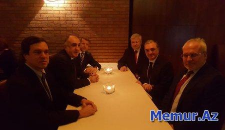 Milanda Azərbaycan və Ermənistanın XİN rəhbərləri arasında görüş keçirilir