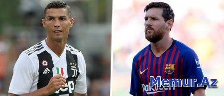 Ronaldu: `Messi üçün darıxıram`