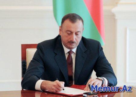 İlham Əliyev iki nəfərə general-mayor rütbəsi verdi