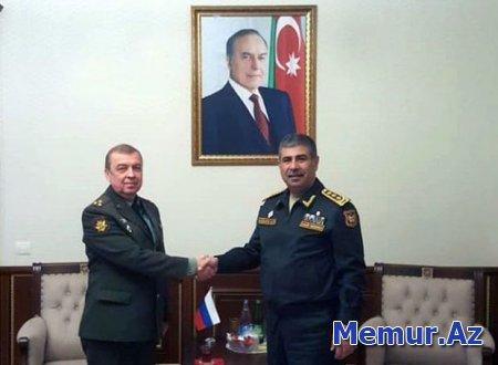 Azərbaycan ilə Rusiya arasında hərbi əməkdaşlıq müzakirə edilib