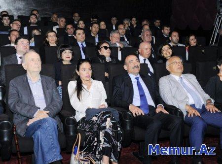 """Leyla Əliyeva """"Mənim balaca şahzadəm"""" cizgi filminin təqdimatında"""