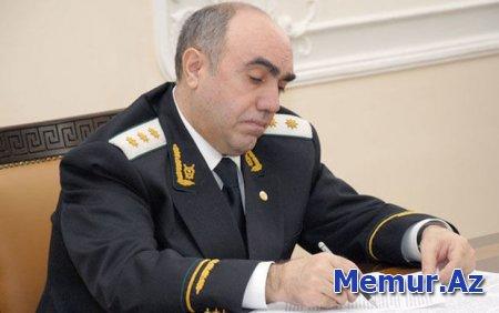 Zakir Qaralov Bakıya yeni hərbi prokuror təyin etdi