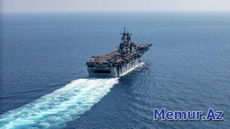 ABŞ gəmisi İranın pilotsuz uçuş aparatını vurub