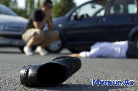 Maştağada 21 yaşlı gənci avtomobil vurdu