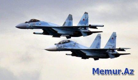 """Rusiya """"SU-35""""ləri Türkiyədə"""