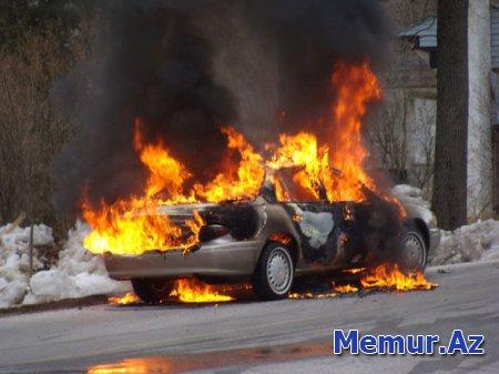 """Şabranda """"Ford"""" yandı"""