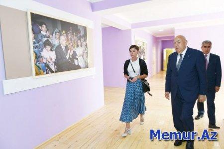 Birinci vitse-prezident İsmayıllıda uşaq bağçasının açılışında iştirak edib
