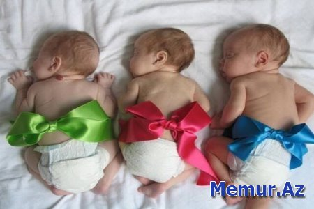 Cəbhə kəndində üçəm sevinci – Qapanlıda gənc ailənin üç oğlu oldu