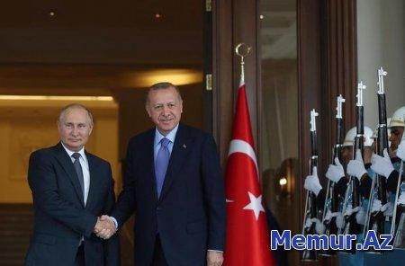 Putin Ankaraya gedib