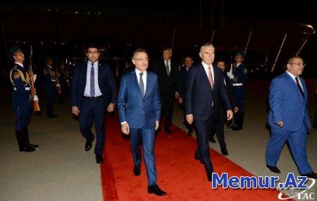 Türkiyə Vitse-prezidentinin Bakıya səfəri başa çatdı