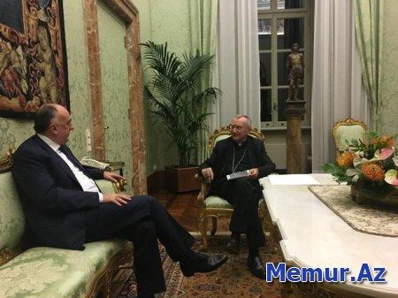 Elmar Məmmədyarov Müqəddəs Taxt-Tacın Dövlət Katibi ilə görüşdü