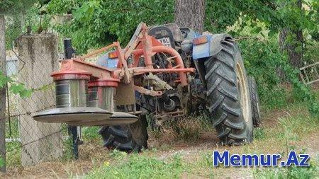 Şamaxıda traktor vuran qadının vəziyyəti ağırdı