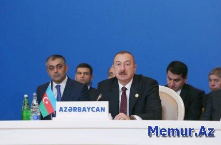 Prezident: Məscidləri dağıdan Ermənistan müsəlman ölkələri ilə dost ola bilməz