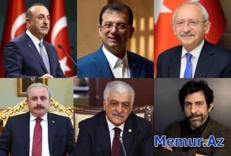 Türkiyəli tanınmışlardan möhtəşəm Azərbaycan Dövlət Bayrağı Günü təbriki