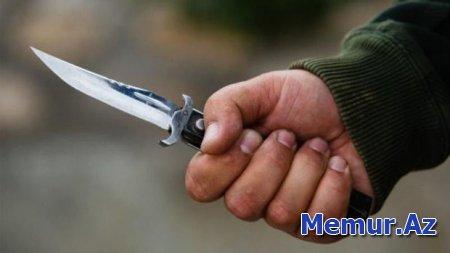 Azərbaycanda ata oğlunu bıçaqladı
