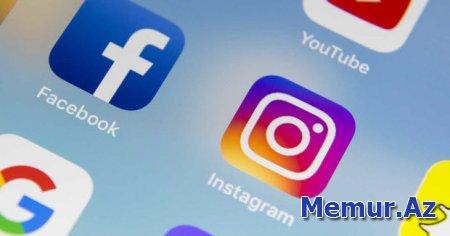 """""""Facebook"""" və """"Instagram""""ın işində nasazlıq yaranıb"""