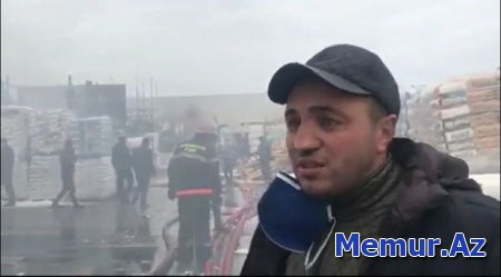 """""""EuroHome""""də malları yanan sahibkar: Bazarın 95 faizi yararsız hala düşüb"""