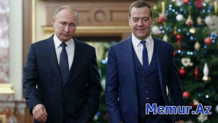 """Medvedevin yeni vəzifəsi: Putinin """"sağ əli"""" oldu"""