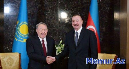 Nazarbayev İlham Əliyevə məktub göndərdi