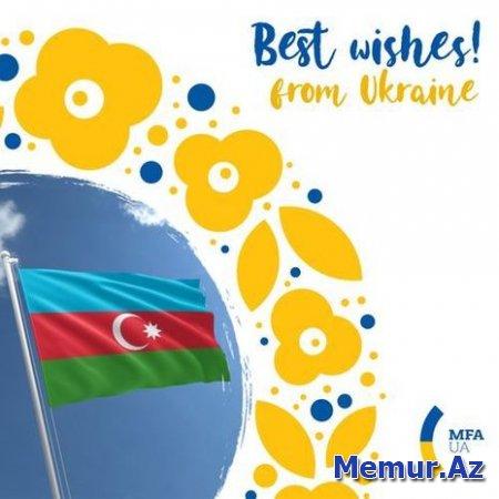 Ukrayna Azərbaycanı Respublika Günü münasibətilə təbrik etdi