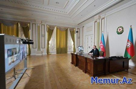 İlham Əliyev Asiya İnkişaf Bankının rəhbərləri ilə videokonfrans keçirdi