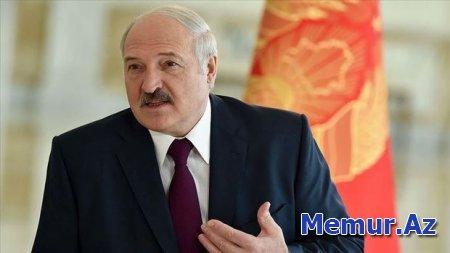 """Lukaşenko: """"Ruslar və ukraynalılar belaruslara həsəd aparır"""""""