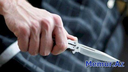 Qazaxda dörd nəfər bıçaqlandı