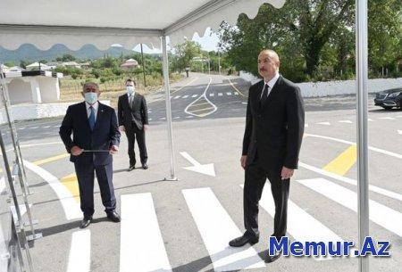 Muğanlı-İsmayıllı-Təzəkənd-Ağbulaq-Qoşakənd avtomobil yolu istifadəyə verilib