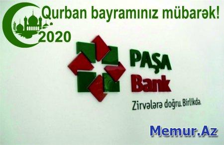 """""""Paşa Bank"""" bir qrup Şəhid ailələri və veteranları """"Qurban"""" bayramı münasibətilə təbrik etdi"""
