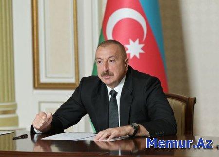"""İlham Əliyev: """"Koronavirusa qarşı mübarizədə müsbət dinamika bizi çox sevindirir"""""""