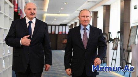 Prezidentlər Rusiya vətəndaşlarının Minskdə saxlanılmasını müzakirə etdilər