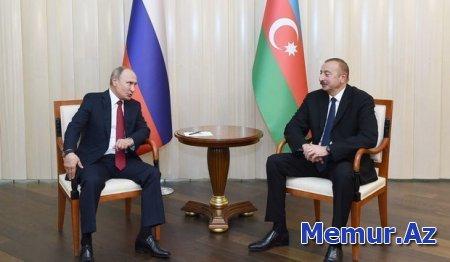 İlham Əliyev və Vladimir Putin arasında telefon danışığı olub