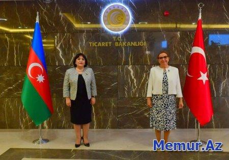 Milli Məclisin sədri Türkiyənin Ticarət naziri ilə görüşüb - YENİLƏNİB