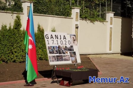 Azərbaycanın Moldovadakı səfirliyində Gəncə terroru nəticəsində həlak olanların anım tədbiri keçirilib