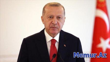 """Ərdoğan: """"Qələbə sevincini qardaş Azərbaycanla birlikdə yaşadıq"""""""