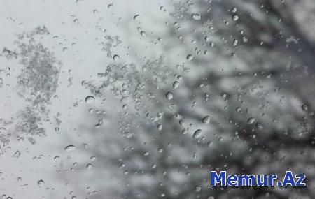 Həftənin ilk iş gününün havası: Yağış, külək, şaxta, qar...
