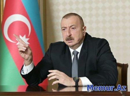 """Prezident: """"Ermənilər Ağdamdakı məscidi onlar ona görə tam dağıtmamışdılar ki..."""""""