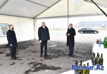 Azərbaycanda yeni şüşə istehsalı zavodu inşa edilir