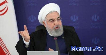 """Ruhani: """"Terrorçu Tramp administrasiyasının məhdudiyyətləri olmasaydı, vaksinasiya daha erkən başlaya bilərdi"""""""