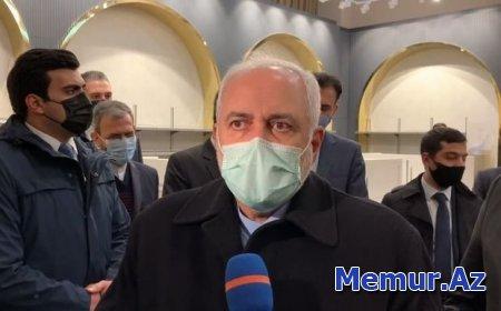 İran xarici işlәr naziri Bakıya gəlib