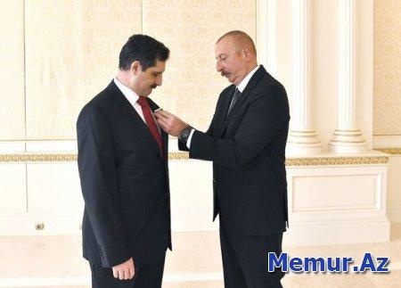 İlham Əliyev Erkan Özoralın fəaliyyətini yüksək dəyərləndirdi