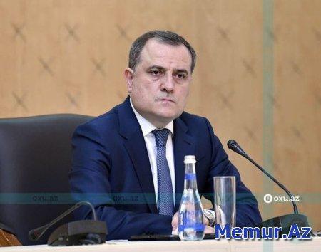 """Ceyhun Bayramov: """"Regionda sülh üçün real şanslar var"""""""