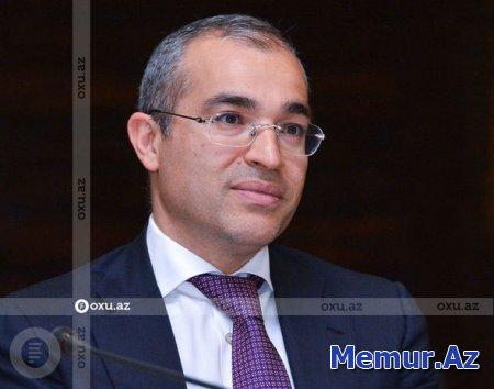 Nazir Azərbaycan iqtisadiyyatının bərpasından yazdı