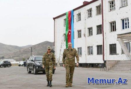 İlham Əliyev və Mehriban Əliyeva Füzuli rayonuna səfərə gəliblər