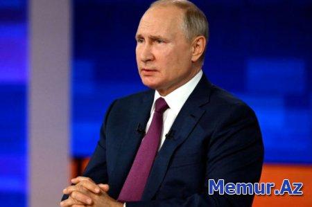 Putin Düşənbə səfərindən imtina etməsinin səbəbini AÇIQLADI