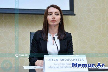 """Leyla Abdullayeva: """"Ermənistanı məsuliyyətə cəlb etmək üçün məhkəməyə müraciət edəcəyik"""""""