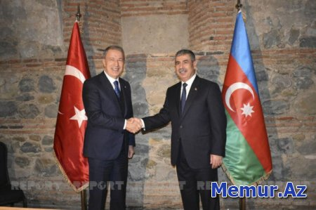 Zakir Həsənov türkiyəli həmkarı ilə görüşüb